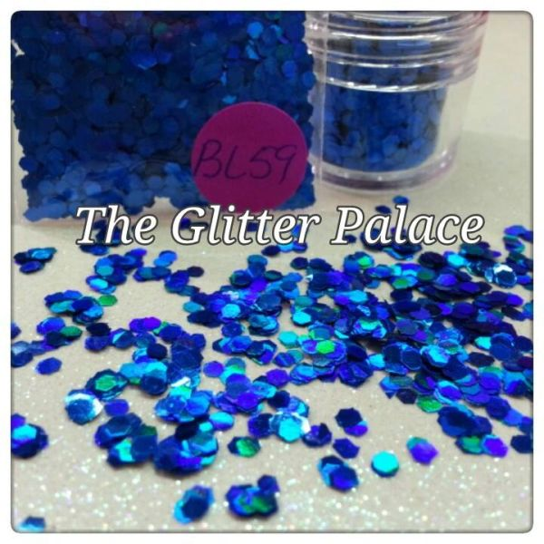 BL59 Holo Navy Blue (.094) Solvent Resistant Glitter