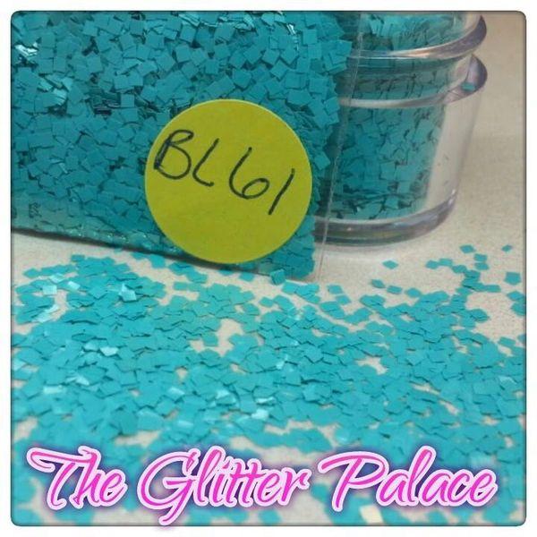 BL61 Mint Square Solvent Resistant Glitter