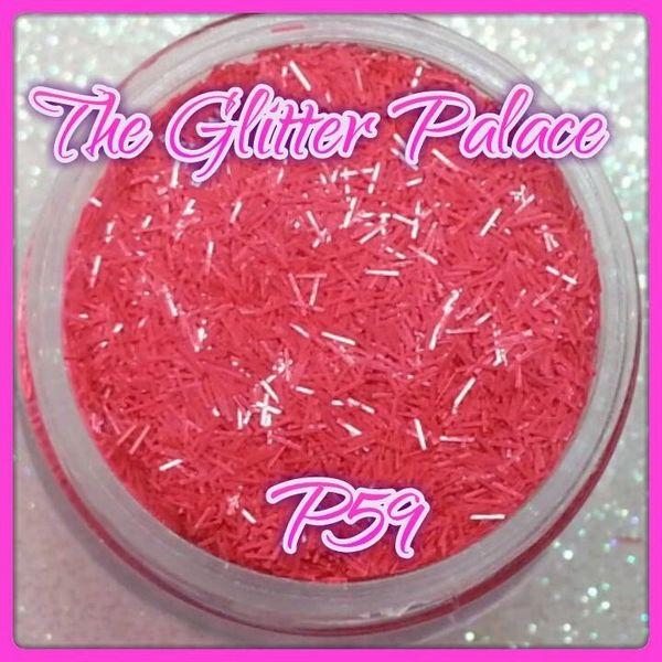 P59 Pastel Pink (Fibers) Solvent Resistant Glitter