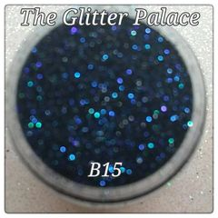 B15 Zotos Black (.008) Solvent Resistant Glitter