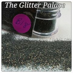 B18 Zinnia Black (.008) Solvent Resistant Glitter