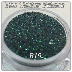 B19 Zircon Black (.008) Solvent Resistant Glitter
