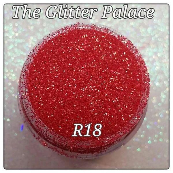 R18 Lobelia Red (.008) Solvent Resistant Glitter