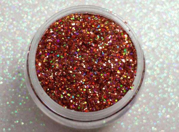 BR23 Holo Rose (.015) Solvent Resistant Glitter