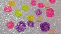 ING180 Multi Colored Gummy Rose Insert (1.5 gr baggie)