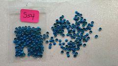 Stud #54 - S54 (turquoise circle stud)
