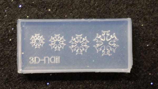 3D Mold - #M29 Snowflake Make Your Own 3D Nail Decorations