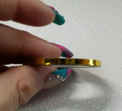 3mm Striping Tape Gold (one roll)