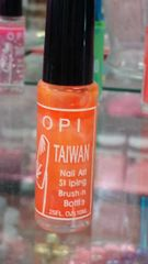 OPI Taiwan Nail Striper Paint - Orange