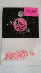 F29 Pink Flower Sliced Femo Insert