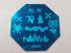 Stamping Plate (HD03) Halloween