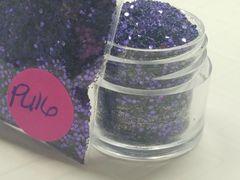 PU16 KK Violet (.040) Solvent Resistant Glitter