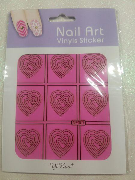 Heart Nail Vinyl