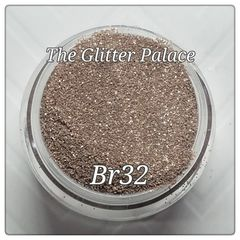 Br32 Almond (.008) Solvent Resistant Glitter