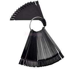 Nail Display Swatches - Black (50 sticks)
