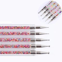 Dotting Tools - Colorful, 5 piece, Double Ended Set