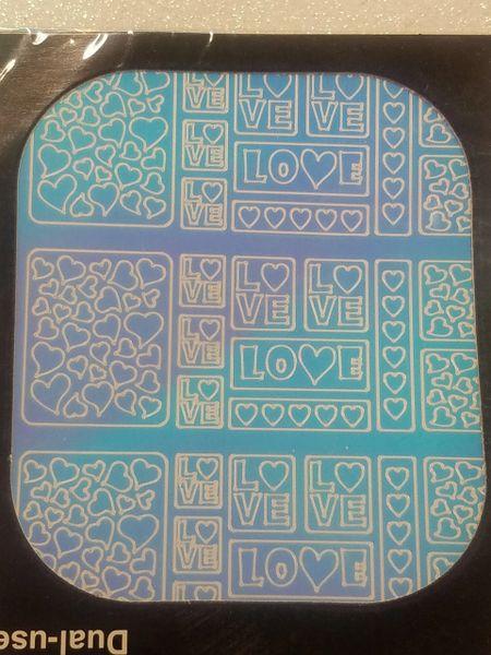 Ghost Pattern Valentine's Hearts & Love