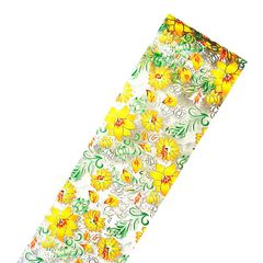 Foil - Yellow Flower