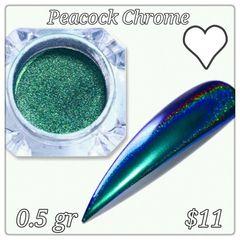 Peacock Chrrome Powder (0.5 gr)