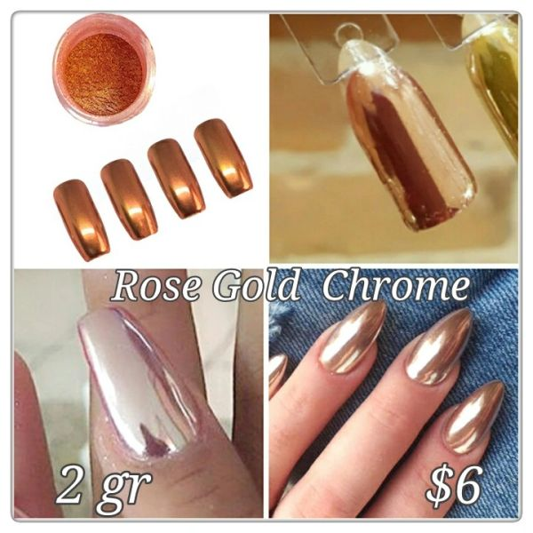 Rose Gold Chrome Powder (2 gr)