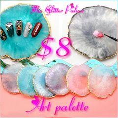 Agate Stone Paint Palette