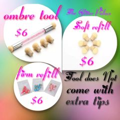 Ombre Tool (comes with reusable tips on each end, replacement tips available)