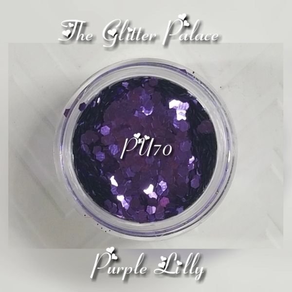 PU70 Purple Lilly (.062) Solvent Resistant Glitter