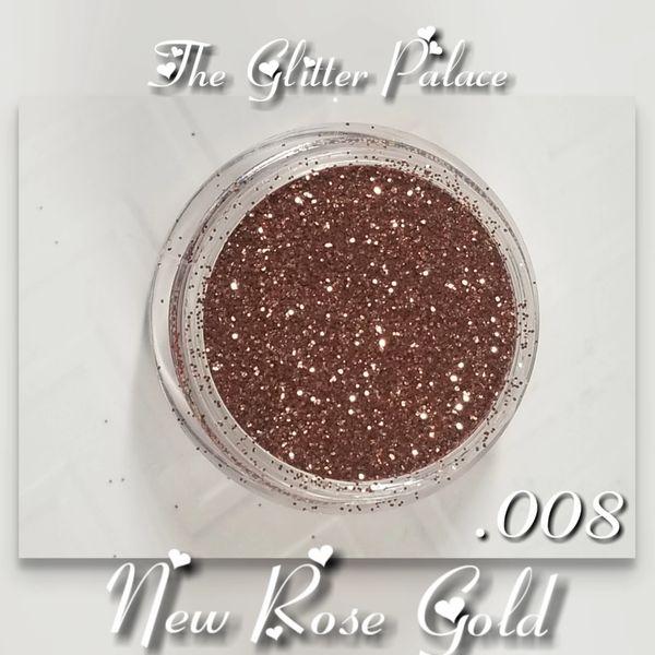 BR33 New Rose Gold (.008) Solvent Resistant Glitter