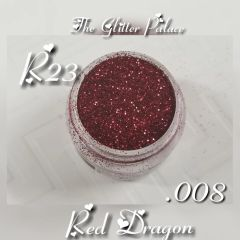 R23 Red Dragon (.008) Solvent Resistant Glitter
