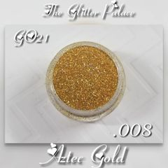 GO21 Aztec Gold (.008) Solvent Resistant Glitter