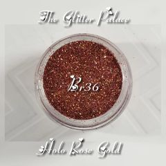 Br36 Holo Rose Gold (.008) Solvent Resistant Glitter