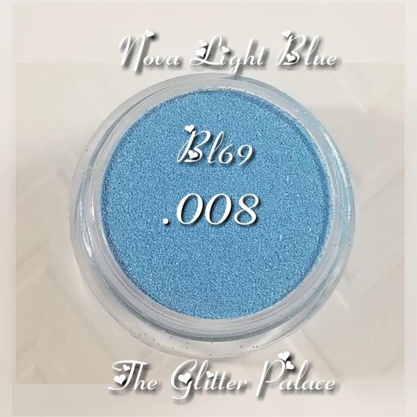 BL69 Nova Light Blue (.008) Solvent Resistant Glitter