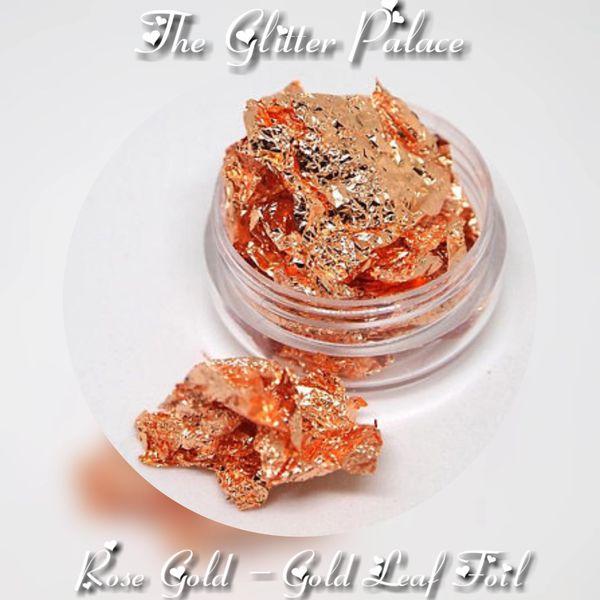 Rose Gold - Gold Leaf Foil