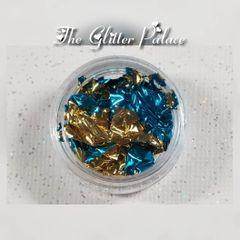 Blue & Gold - Gold Leaf Foil
