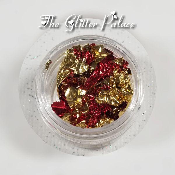 Red & Gold - Gold Leaf Foil