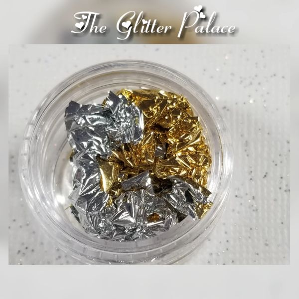 Gold and silver - Gold Leaf Foil