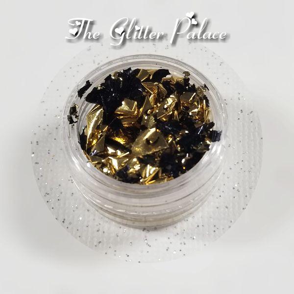 Gold & Black - Gold Leaf Foil
