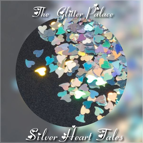 Holo Silver Heart Tales