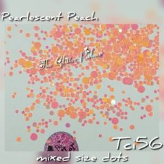 Pearlescent Peach Dot Mix (Tci56)