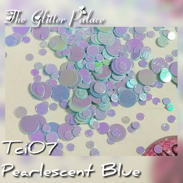 Pearlescent Blue Dot Mix (Tci07)