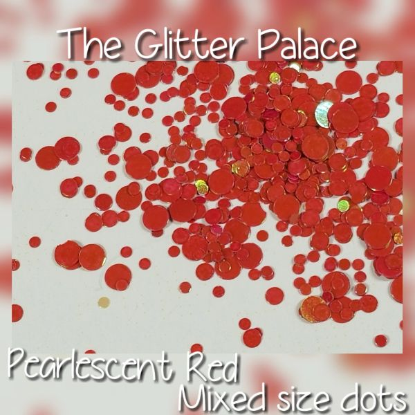 Pearlescent Red Dot Mix (Tci08)