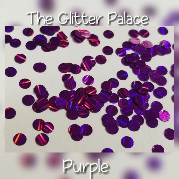 Purple Laser Dots