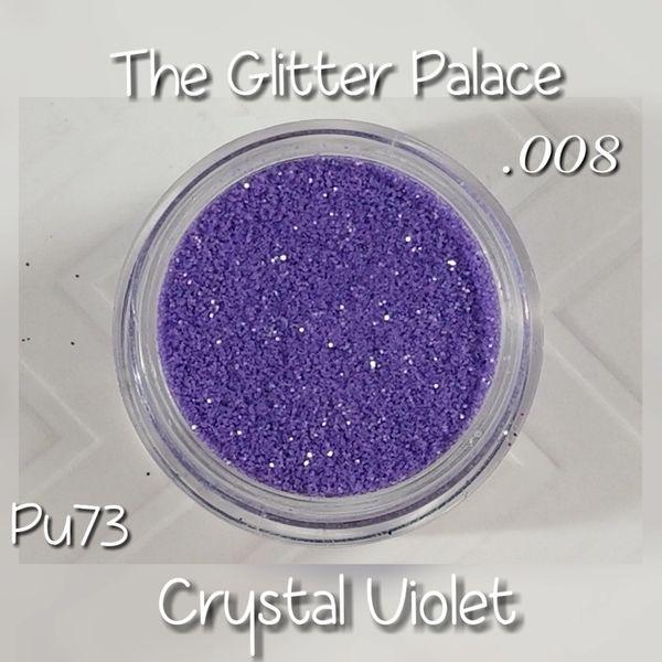 PU73 Crystal Violet (.008) Solvent Resistant Glitter