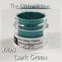 G39 Dark Green (.008) Solvent Resistant Glitter