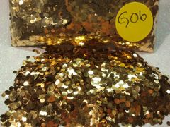 GO6 Brilliant Gold (.062) Solvent Resistant Glitter