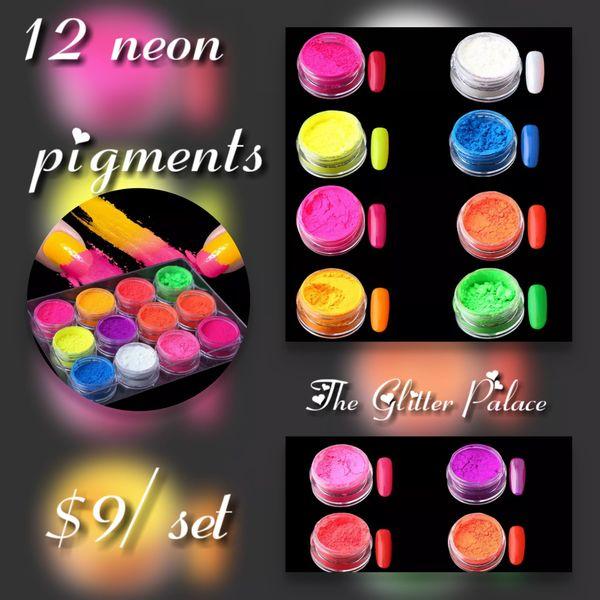 Neon Pigments Set of 12