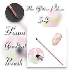 Foam Gradient Sponge Brush