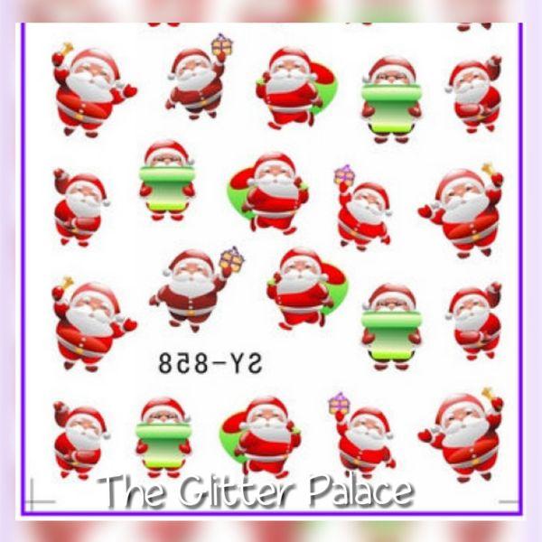 Santa Decals (SY-858)