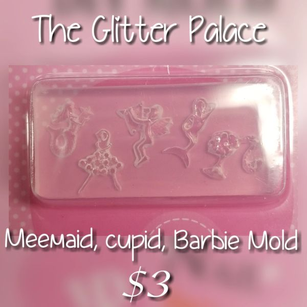 3D Mold - #M47 Mermaid, Cupid, Barbie to make your own 3D Decorations