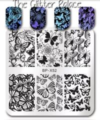 Stamping Plate (BP-X52) Butterfly
